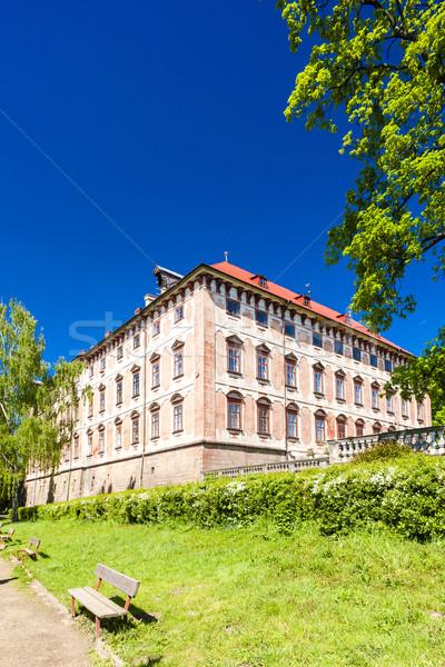 дворец Чешская республика здании саду архитектура Европа Сток-фото © phbcz