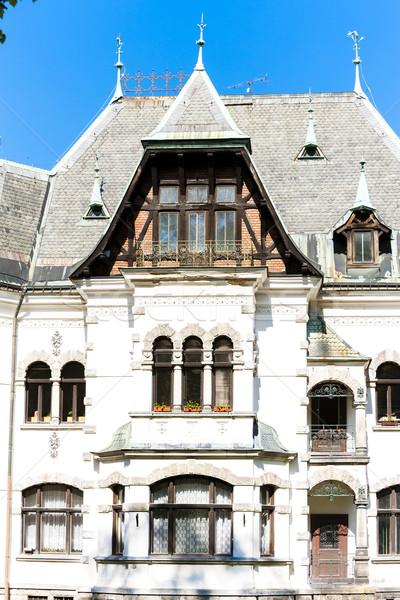 Villa Repubblica Ceca casa costruzione architettura Europa Foto d'archivio © phbcz