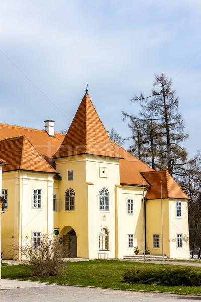 дворец Чешская республика здании архитектура Европа история Сток-фото © phbcz