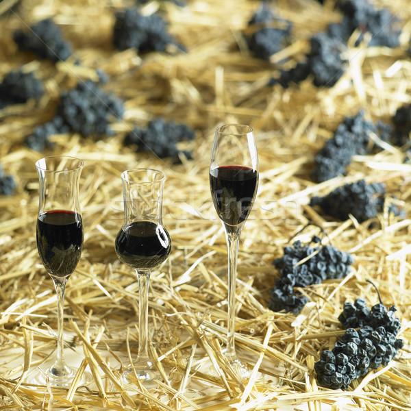 わら ワイン ワイナリー チェコ共和国 眼鏡 ブドウ ストックフォト © phbcz
