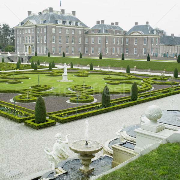 Stock photo: palace and gardens, Paleis Het Loo Castle near Apeldoorn, Nether
