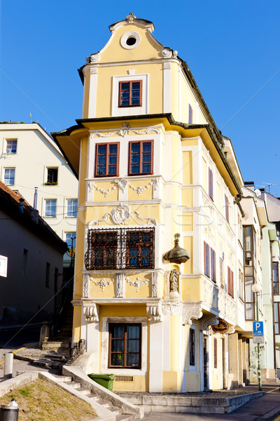 Maison bon pasteur Bratislava Slovaquie ville Photo stock © phbcz