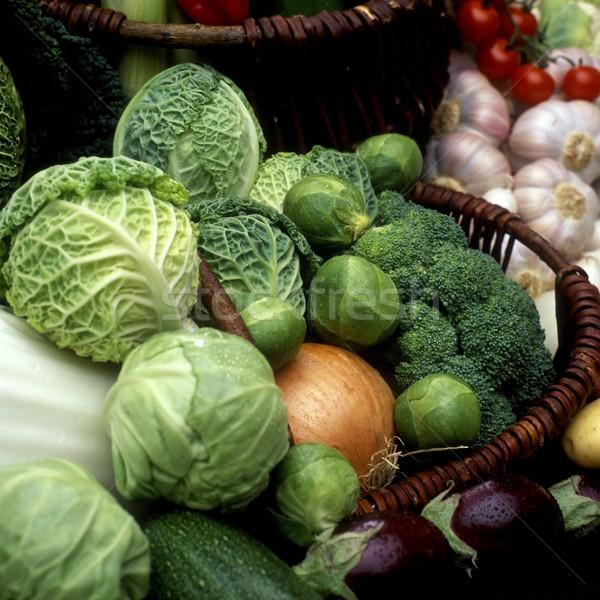 Сток-фото: овощей · натюрморт · продовольствие · здоровья · интерьер · растительное