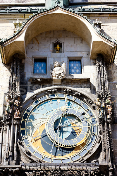 Horloge at Old Town Square, Prague, Czech Republic Stock photo © phbcz