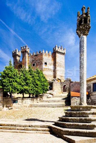 Penedono Castle, Beira Province, Portugal Stock photo © phbcz