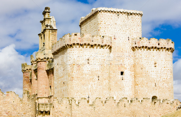 Turegano Castle, Segovia Province, Castile and Leon, Spain Stock photo © phbcz