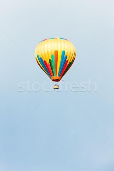Balonem Francja latać Europie balon powietrza Zdjęcia stock © phbcz