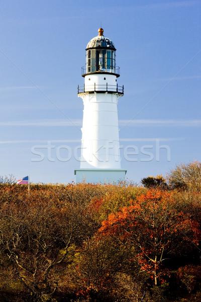 Cape Elizabeth Lighthouse, Maine, USA Stock photo © phbcz