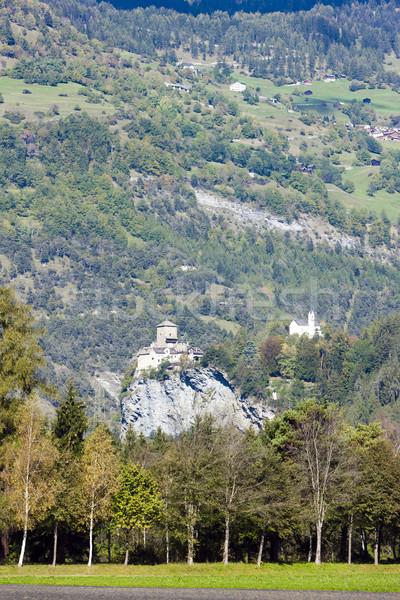 城 スイス アーキテクチャ ヨーロッパ 歴史 屋外 ストックフォト © phbcz