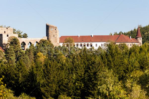 遺跡 城 チェコ共和国 旅行 アーキテクチャ 屋外 ストックフォト © phbcz