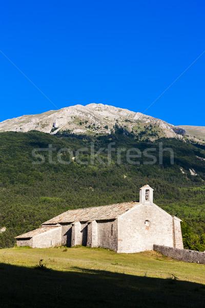 Kapel Frankrijk gebouw Europa geschiedenis buiten Stockfoto © phbcz