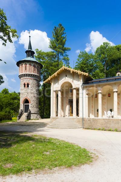 Palace Sychrov - Castle of Arthur, Czech Republic Stock photo © phbcz