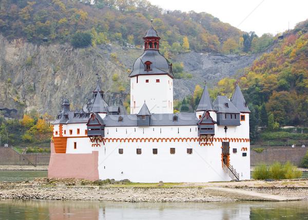 Pfalzgrafenstein Castle, Rhineland-Palatinate, Germany Stock photo © phbcz