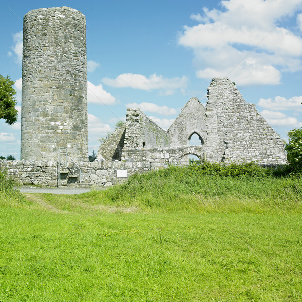 ruins of Drumlane Monastery, County Cavan, Ireland Stock photo © phbcz