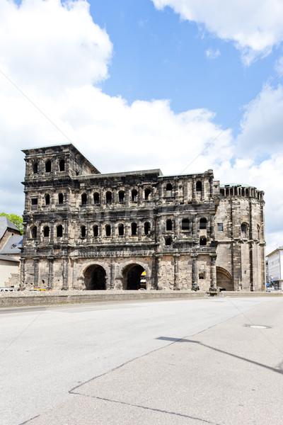 Porta Nigra, Trier, Rhineland-Palatinate, Germany Stock photo © phbcz