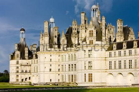 Chambord Castle''s detail, Loir-et-Cher, Centre, France Stock photo © phbcz