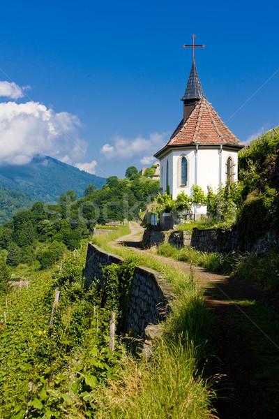 Chapel of St. Urban, Thann, Alsace, France Stock photo © phbcz