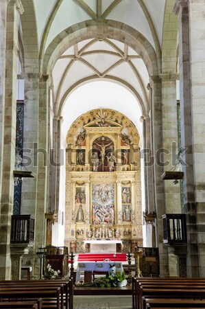 interior of church of All Saints, Divin, Slovakia Stock photo © phbcz