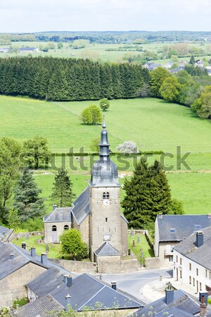 Monte Maria Abbey and castle near Burgusio, Trentino-Alto Adige, Stock photo © phbcz