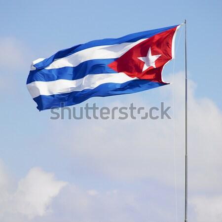 flag of Cuba Stock photo © phbcz