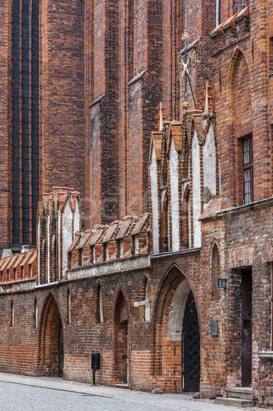 Kilise Polonya Bina seyahat mimari Avrupa Stok fotoğraf © phbcz