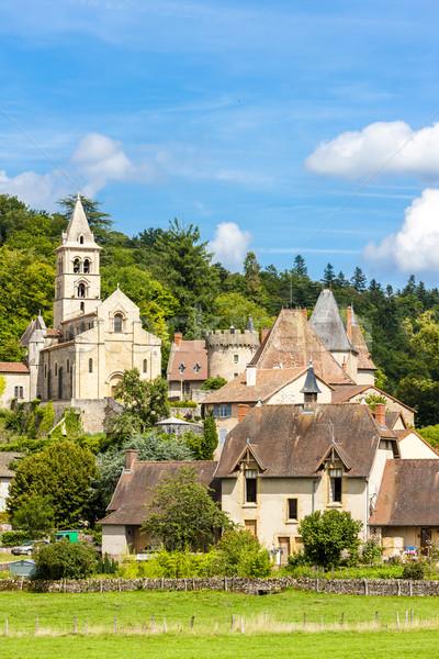 Chateaufneuf, Burgundy, France Stock photo © phbcz