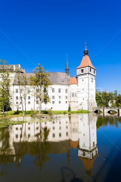 palace Blatna, Czech Republic Stock photo © phbcz