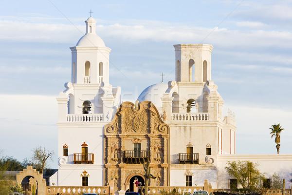 миссия Аризона США Церкви архитектура религии Сток-фото © phbcz