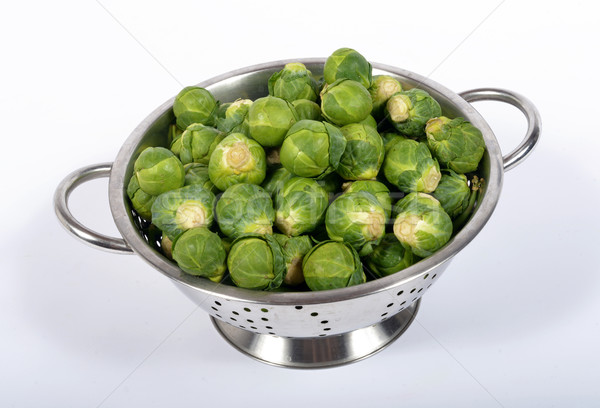 sprouts bruxell in the strainer Stock photo © philipimage