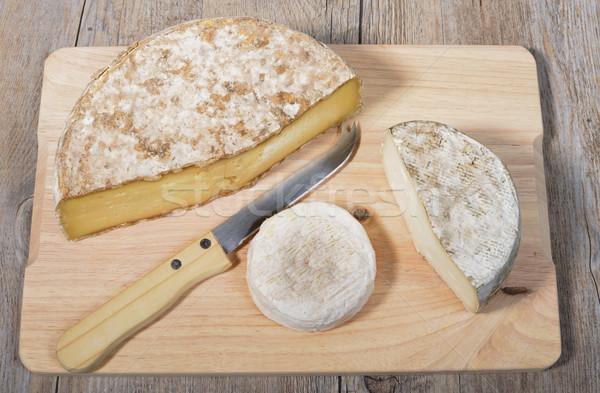 differents cheeses of Savoie Stock photo © philipimage