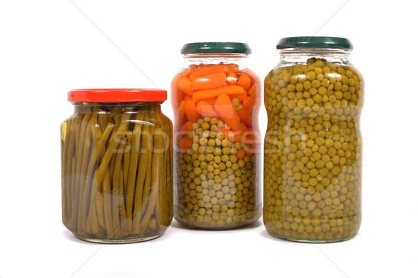 jar hard vegetables Stock photo © philipimage