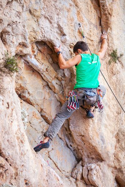 岩 崖 顔 壁 風景 山 ストックフォト © photobac