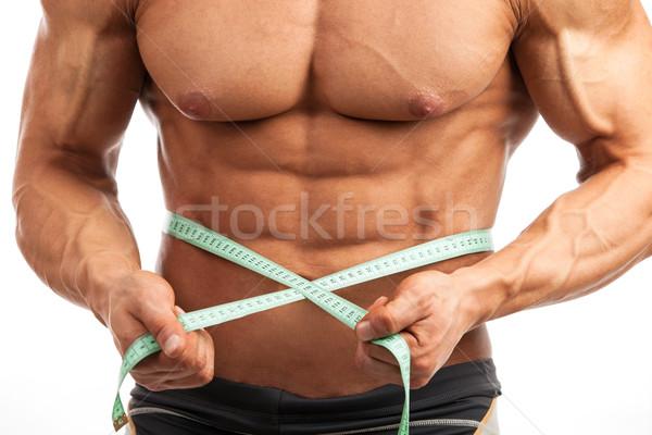 Muscular homem ver jovem Foto stock © photobac