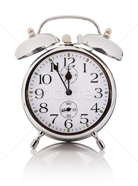 Alarm clock, isolated over white background Stock photo © photobac