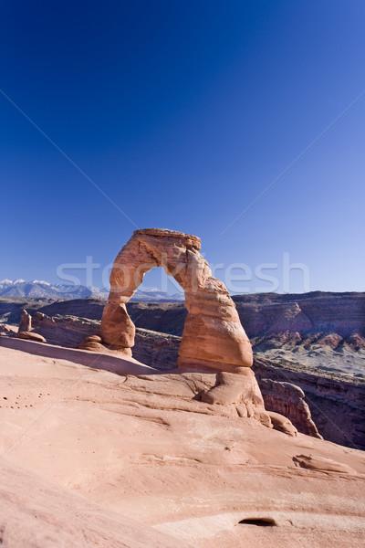 Arch parco Utah Foto d'archivio © photoblueice