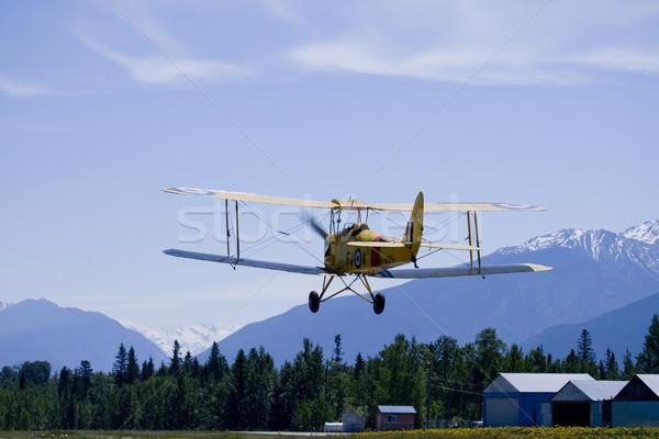 Tiger Moth, 1938,  Airplane Stock photo © photoblueice