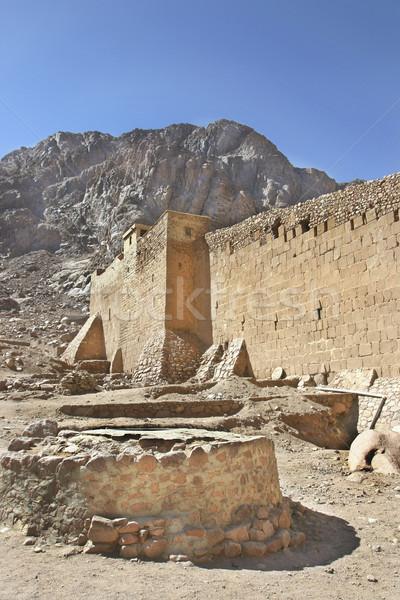 Bine manastire principal apă sursa viitor Imagine de stoc © photoblueice