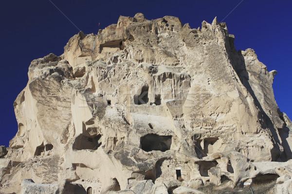 Rock case Turchia persone fuori camere Foto d'archivio © photoblueice