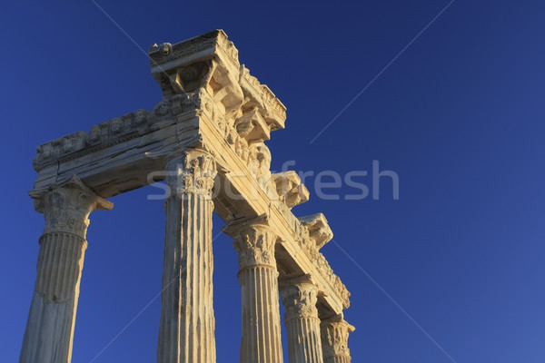 Temple of Apollo in Turkey Stock photo © photoblueice