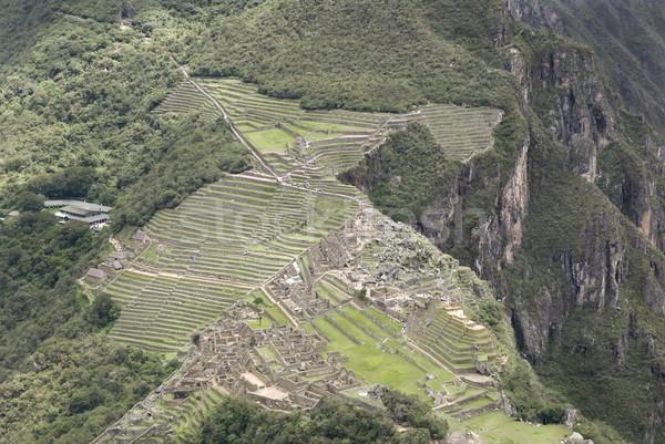 Overview of Machu Picchu, Peru Stock photo © photoblueice