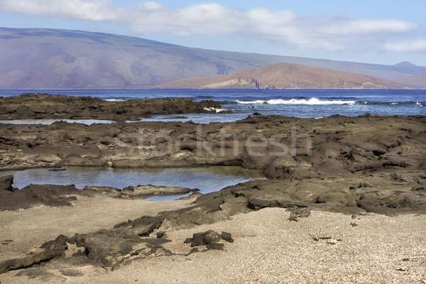 пейзаж воды облака тело морем Сток-фото © photoblueice