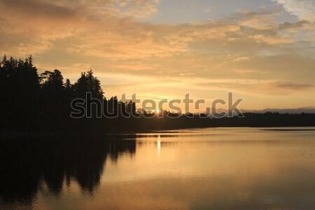 Pacific Ocean Sunset Stock photo © photoblueice