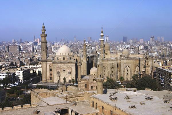 Cairo Egypt overview Stock photo © photoblueice
