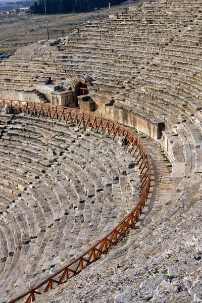 Roman Ruins of Hierapolis  Stock photo © photoblueice