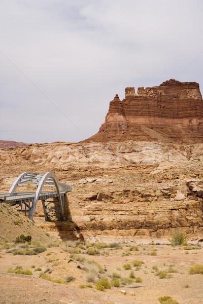 Ponte Utah scala Foto d'archivio © photoblueice