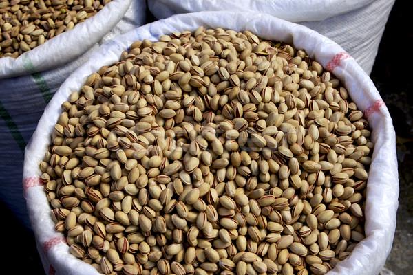 Pistachio Nuts Stock photo © photoblueice