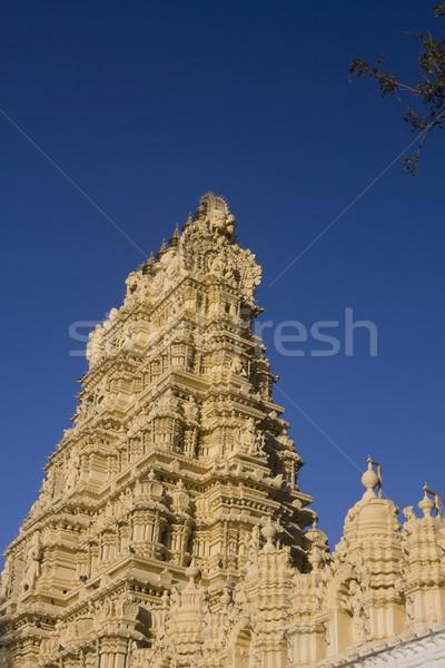 Palat asiatic rugăciune Asia templu Imagine de stoc © photoblueice