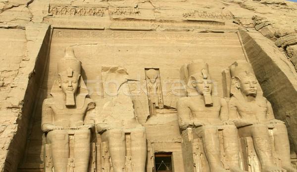Abu Simbel Stock photo © photoblueice