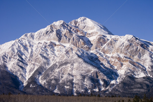 Montagna cielo blu Foto d'archivio © photoblueice
