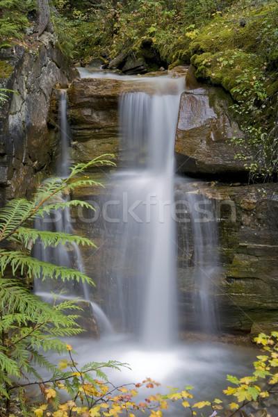 водопада 15 ногу рок лице Сток-фото © photoblueice